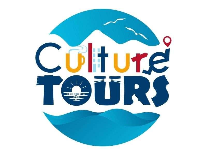 culture tours logo by bullseye branding inc